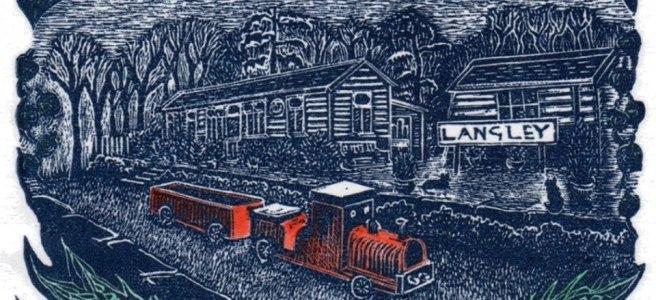 CHristmas Train - Caroline Coode