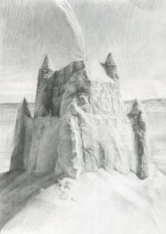 Sandcastle study - Katherine Renton