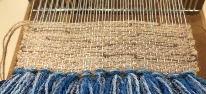 Janis Embleton's small loom
