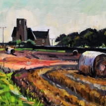 Hay bales in a field, Blyth - Stuart Jones