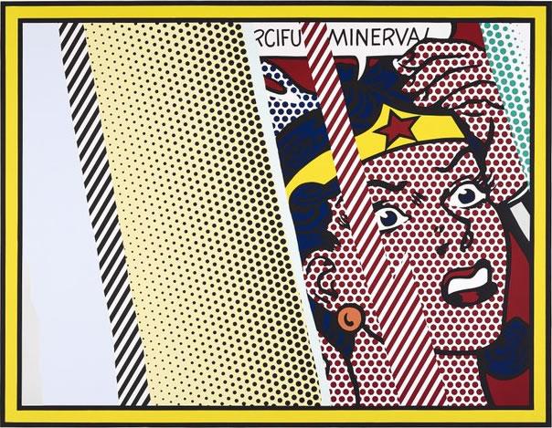 Roy Lichtenstein, Reflections on Minerva - Photo John McKenzie © National Galleries of Scotland